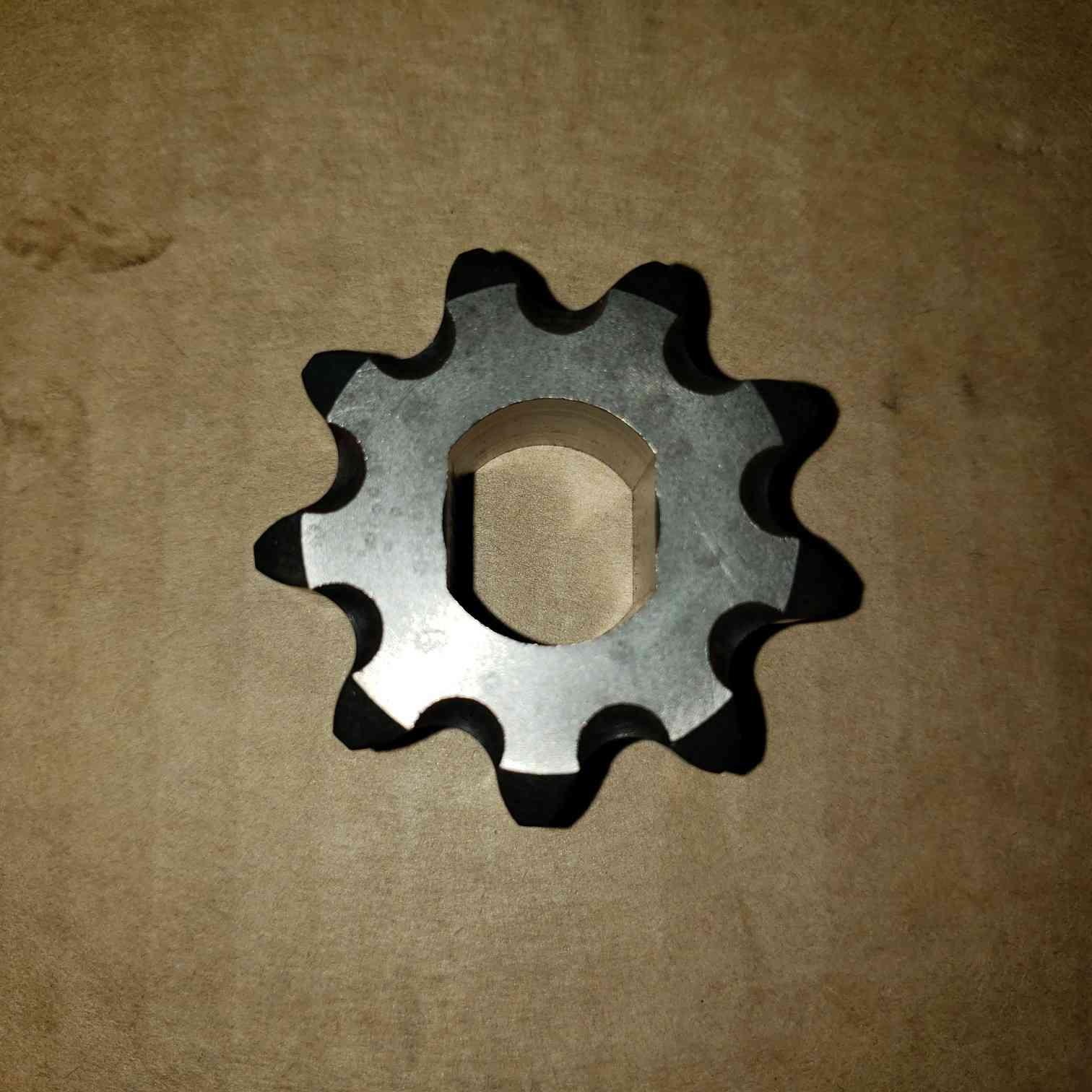 GeoRipper Series6 irrigation trencher drive sprocket